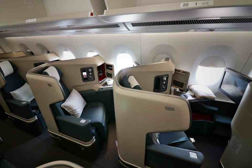Cathay Pacific A350 seats