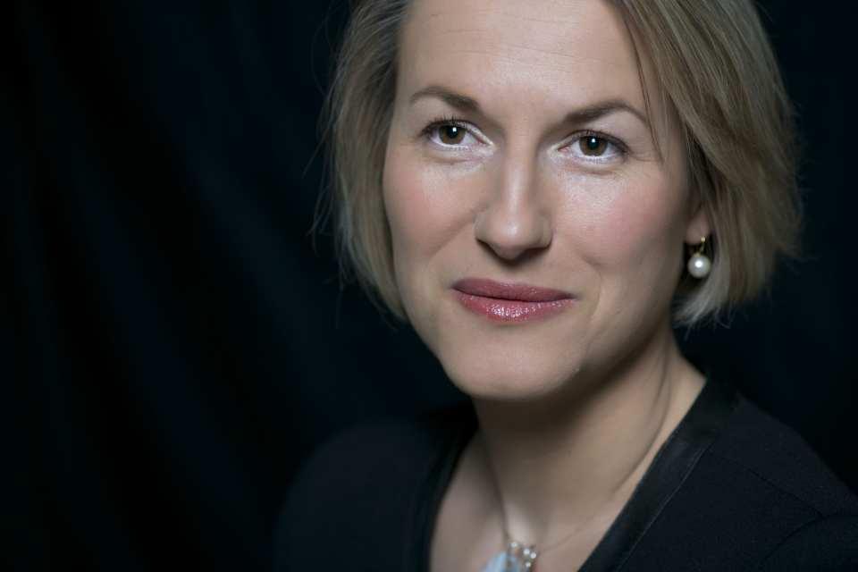 Air France CEO Anne Rigail