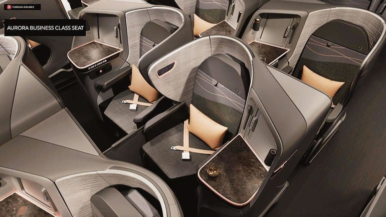 Turkish Airlines New Business Class Seats