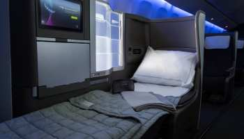 british airways business class bed
