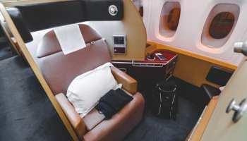 Qantas First Class Seat