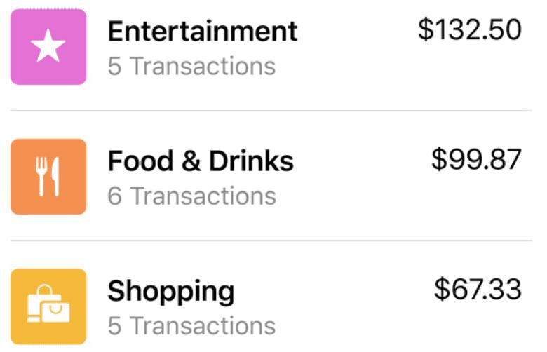 Apple Pay Transaction History