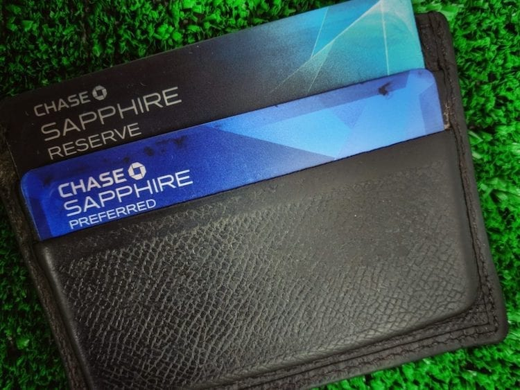 Chase Sapphire Preferred And Reserve