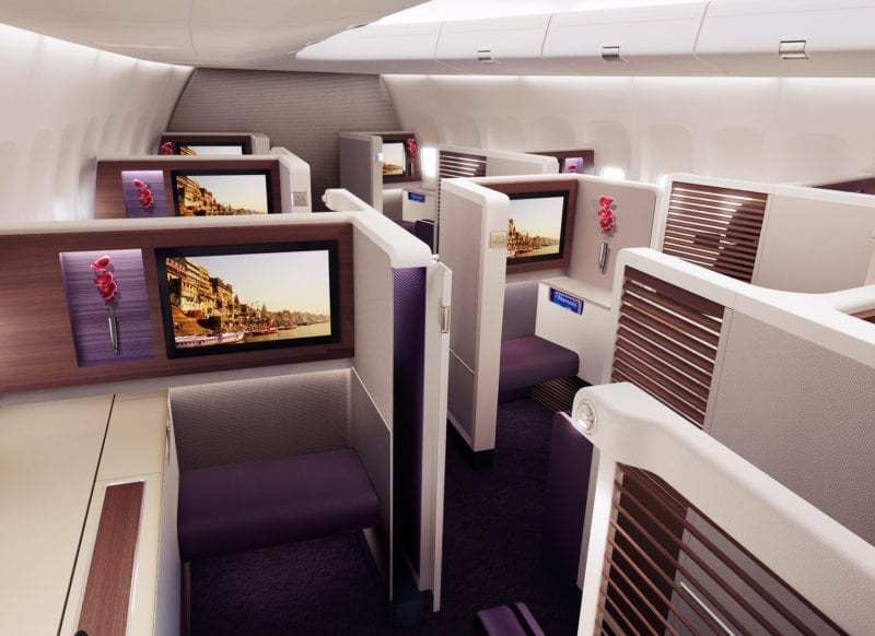 Thai Airways First Class Cabin