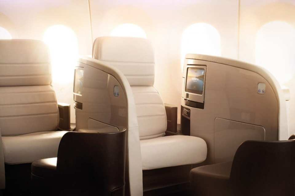 Air New Zealand Business Class 787-9
