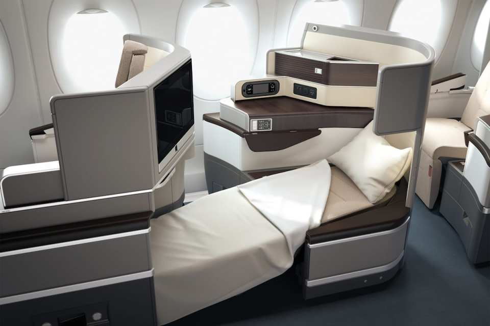 TAP Air Portugal Business Class Seat