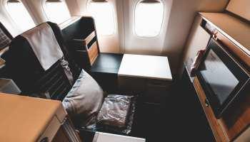 Swiss Business Class Throne Seat Boeing 777