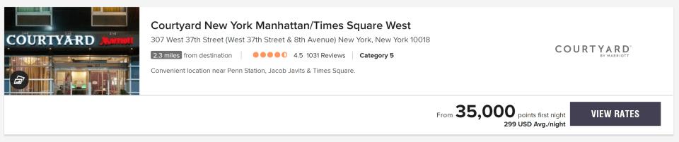 Courtyard New York Manhattan / Times Square West