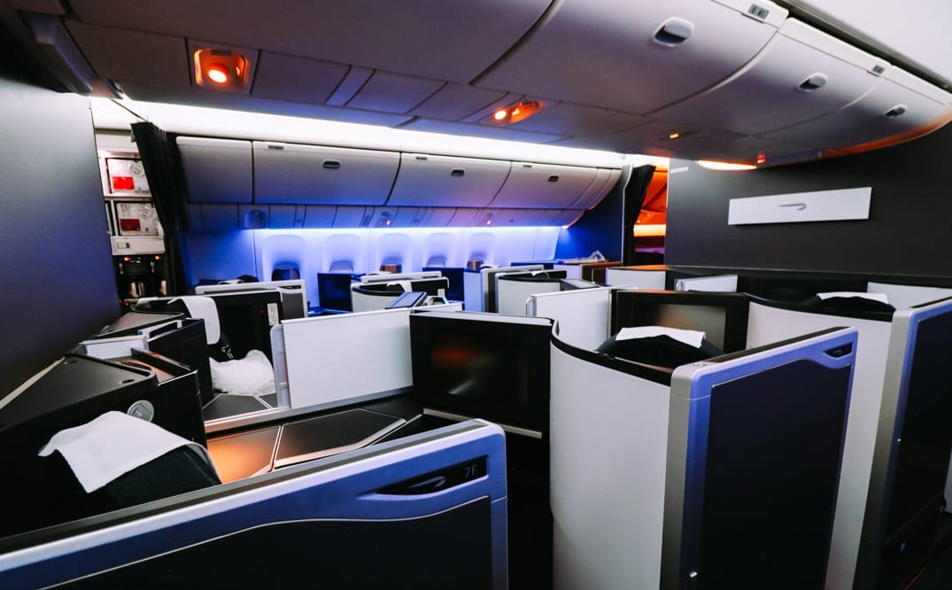 Review British Airways Boeing 777 Club Suite Business Class