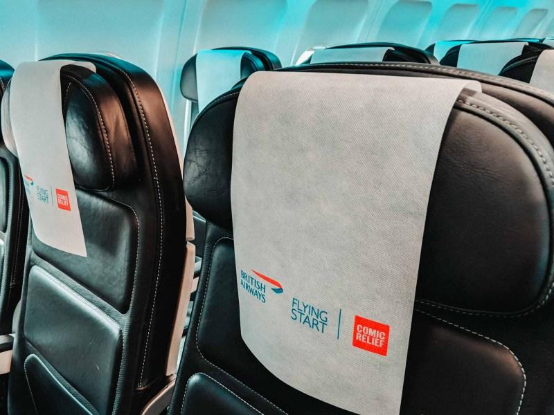 British Airways Euro Traveller Club Europe