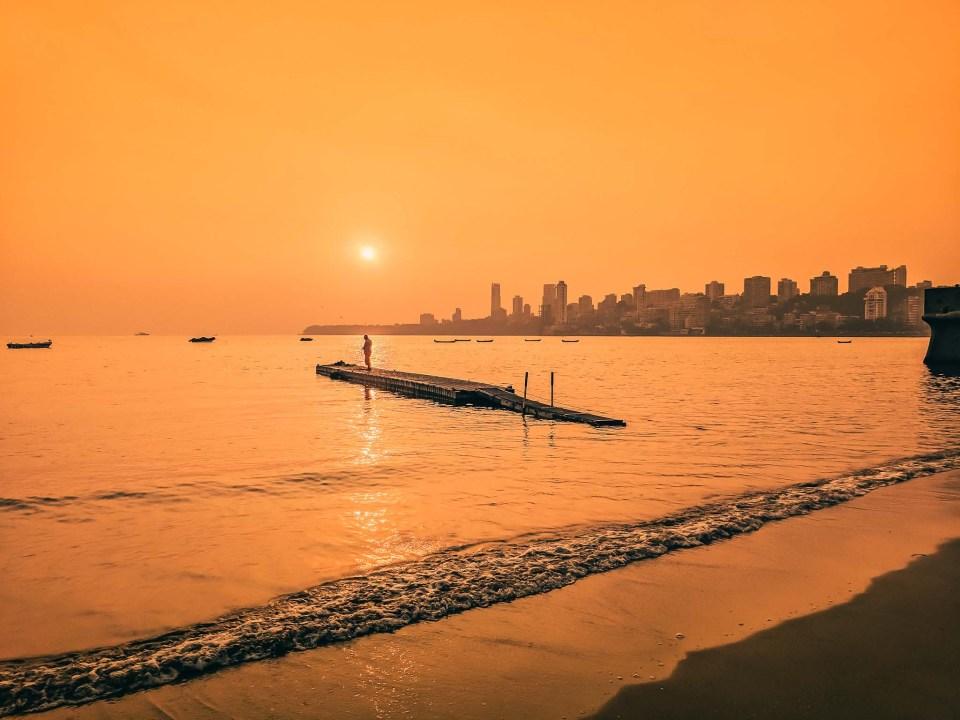 Mumbai Marine Drive India