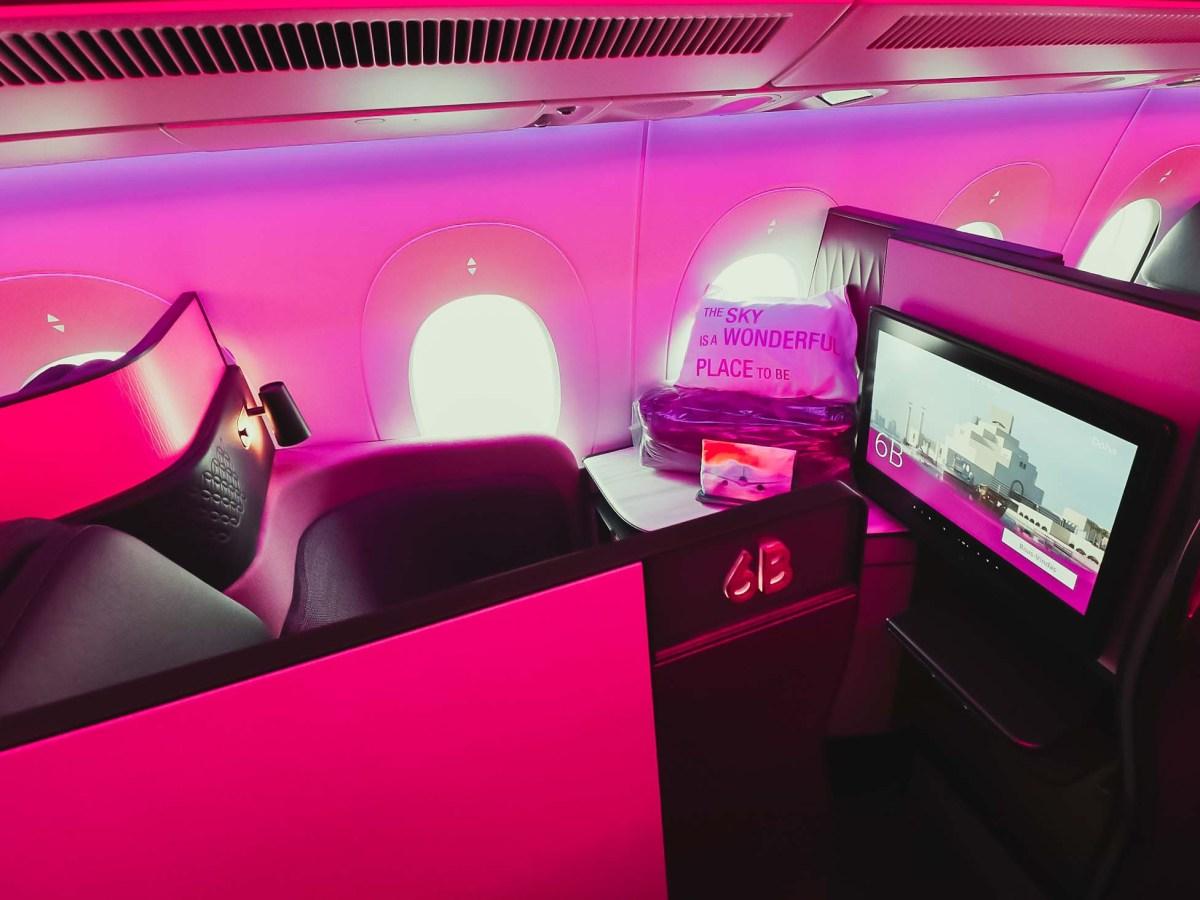 Qatar Airways Qsuite Business Class