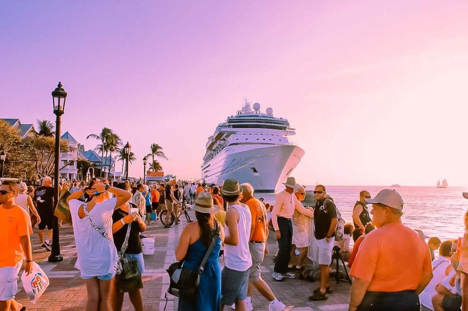 Florida Key West Cruise Ship