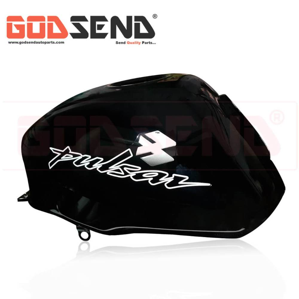 GodSend Bajaj Pulsar 150 Fuel Tank Price Pulsar 150 Petrol Tank Price Old Model Pulsar Fuel Tank Black Colour 2