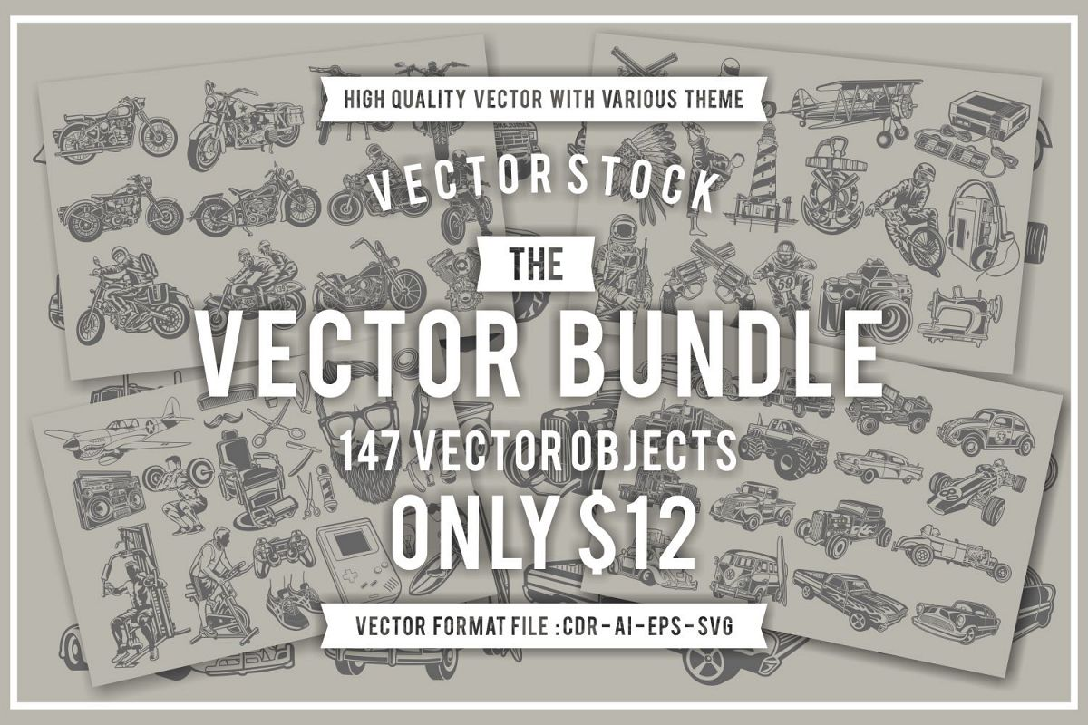 The Vector Bundle - 147 Vector Objects