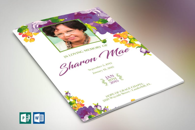 Word Obituary Templates