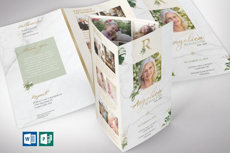 Tropica Legal Trifold Template