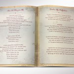 Victorian Funeral Program Word Publisher Template