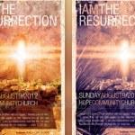 Resurrection Easter Flyer Template