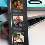 Graystone Funeral Bookmark Word Publisher Template,