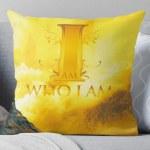 I Am Who I Am Throw Pillow