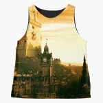 Strong Tower Sleeveless Top