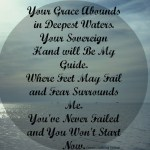 When God Calls Us Out To Deeper Waters