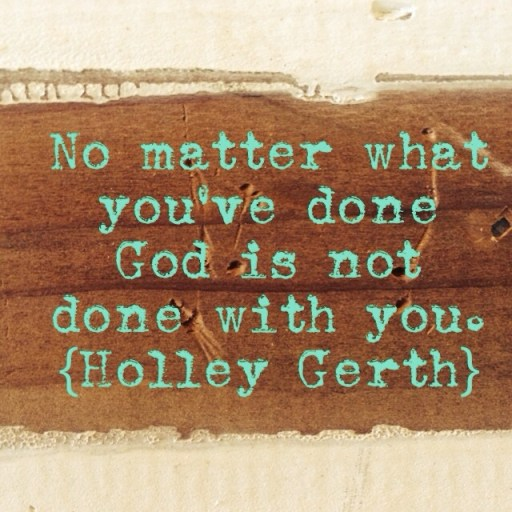 No Matter What by Holley Gerth