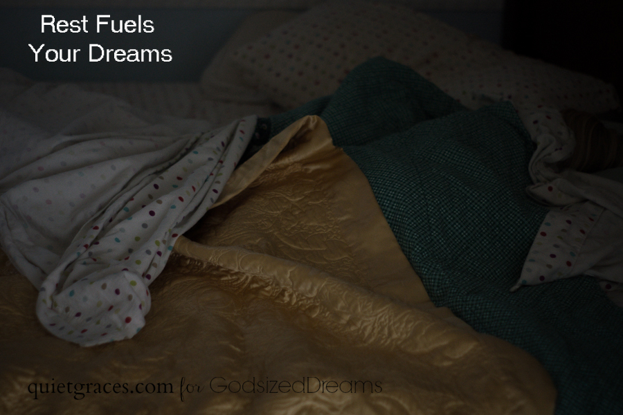 Rest Fuels your Dreams