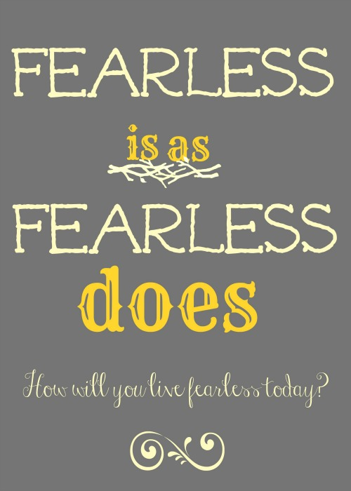Fearless is...gray and yellow3 -1