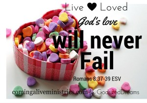 Live Loved via Jenn Hand for God-sized Dreams