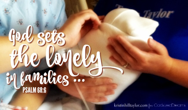 God Sets The Lonely In Families..Mother's Day Post