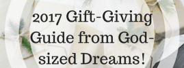 Encouragement Gifts-2017 Gift-Giving Guide