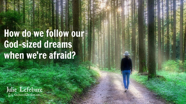 Following Our God-Sized Dreams When We're Afraid