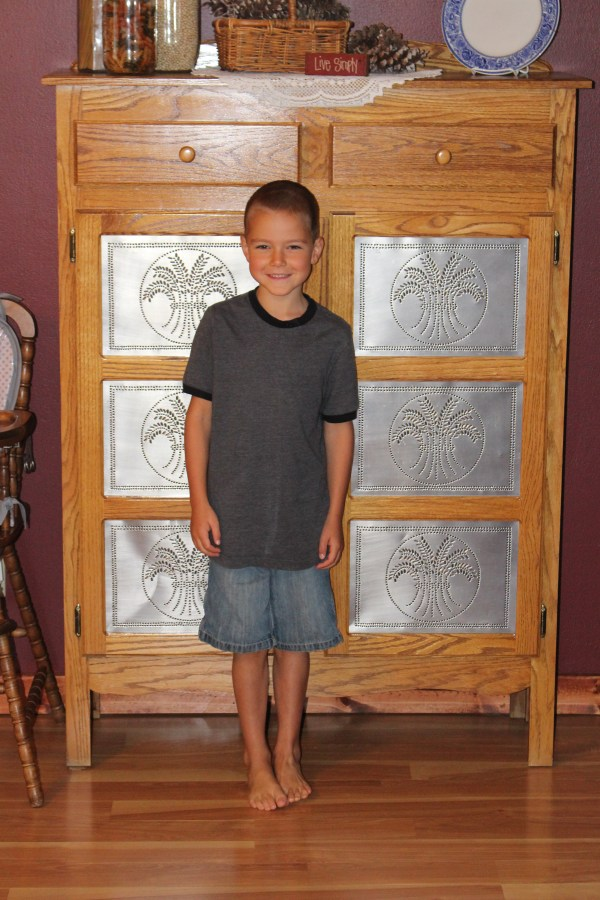 Lane Stevan, 6 years old, in the 1st grade this year!