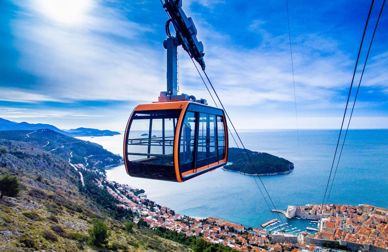 Dubrovnik Cable Car Buy Tickets Online At The Best Price Working Hours Amp Info