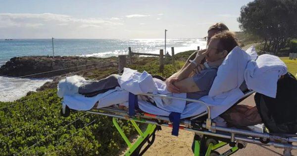chris shaw morendo desidera vedere la spiaggia