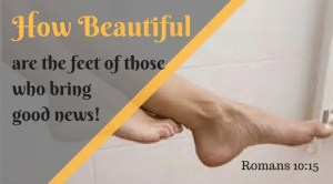 You are my beautiful feet