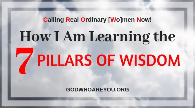 How I Am Learning the 7 Pillars of Wisdom Essential to Build Life