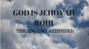 Lord our Shepherd