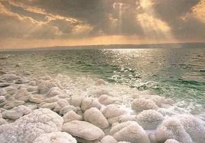 The Dead Sea: too much salt kills