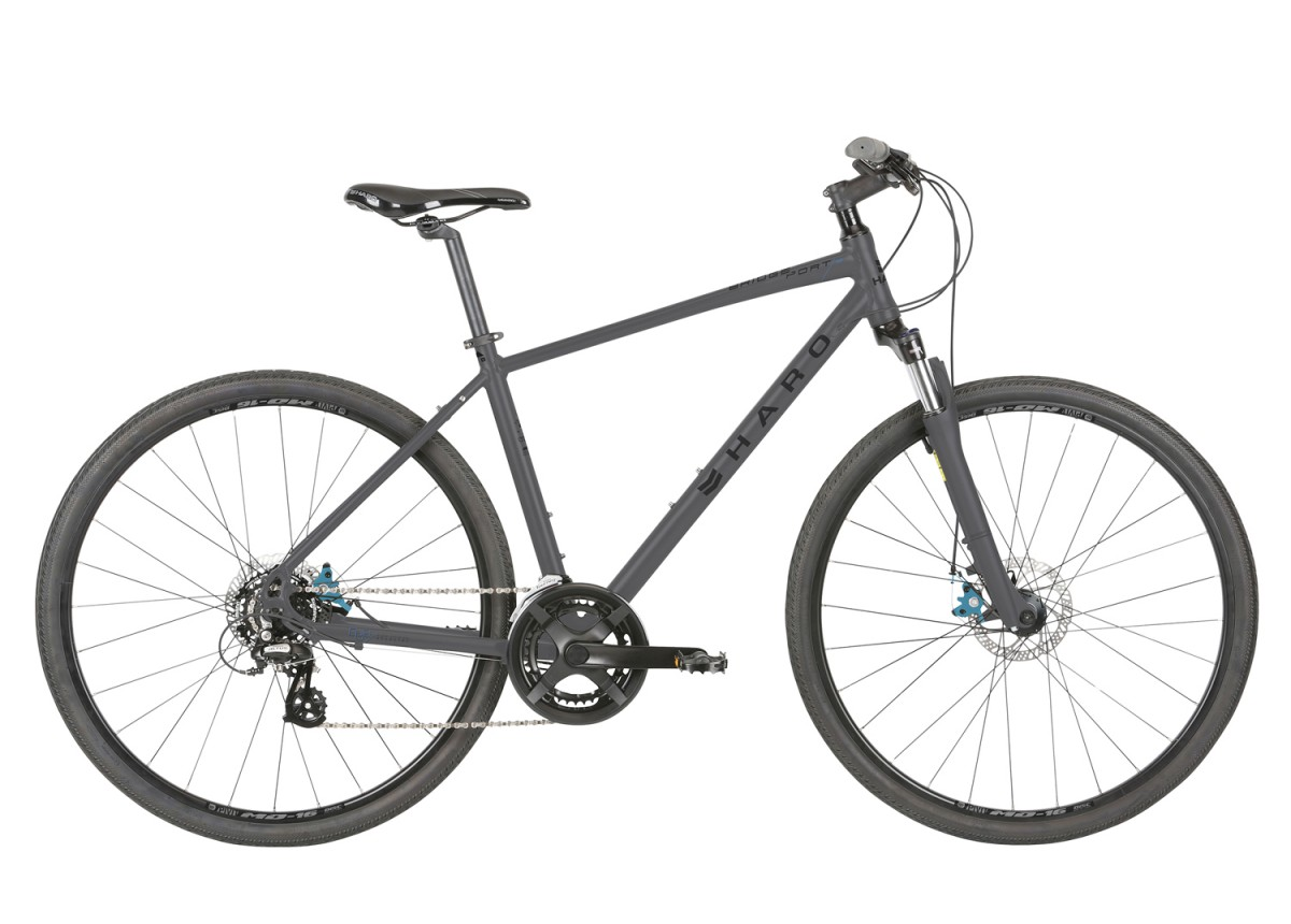 Haro Bridgeport Large 21 Hybrid Commuter Matte