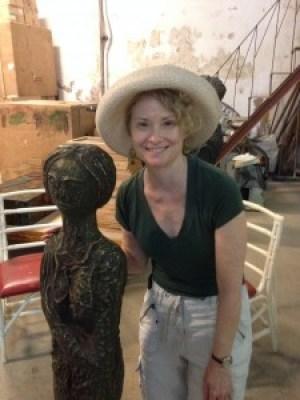 Kathy in Cuba