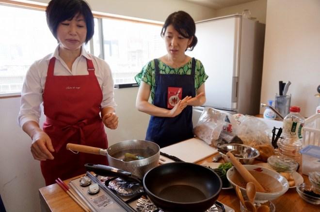 Tsukiji cooking class