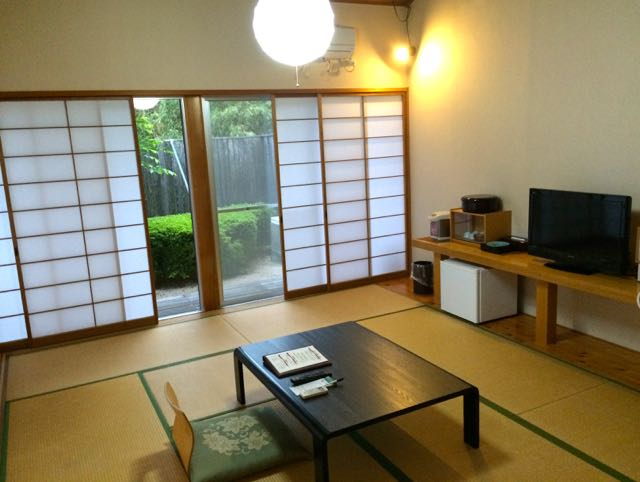 traditional Japanese hotel room