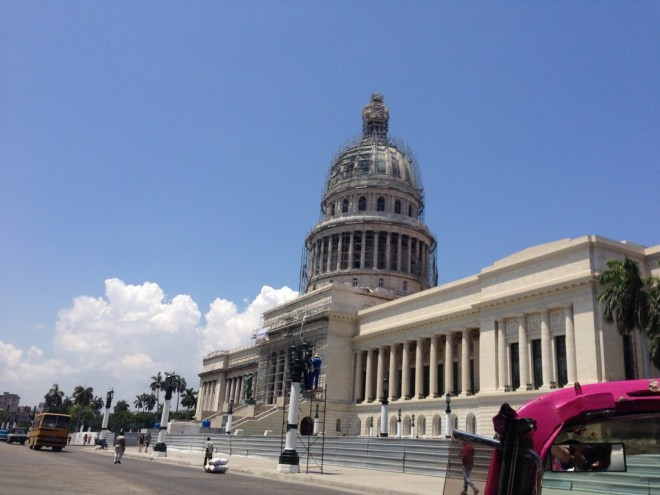 The National Capitol Building in Havana