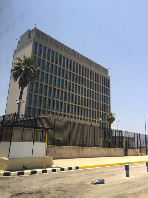 US embassy in Havana