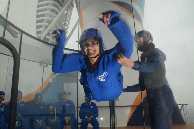 skydive on Anthem of the Seas