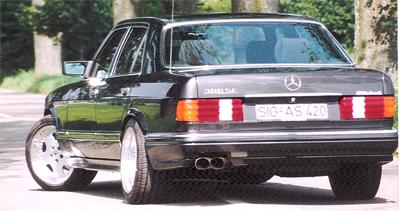 S Klasse W126 Mercedes Styling Mercedes Tuning Mercedes