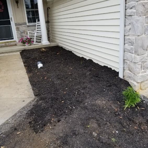 After: Assisted in safely digging and shoring the area for the plumber to repair the break with minimal damage to the homeowner's property.